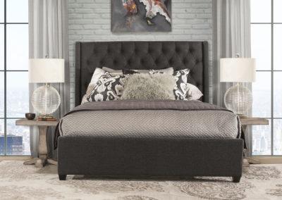 churchill bed grey