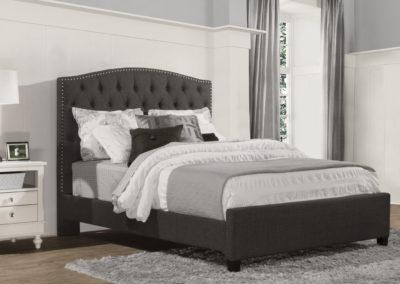 lila bed grey