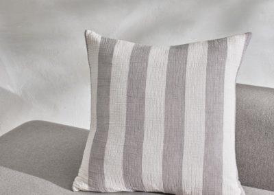 stripe throw pillow